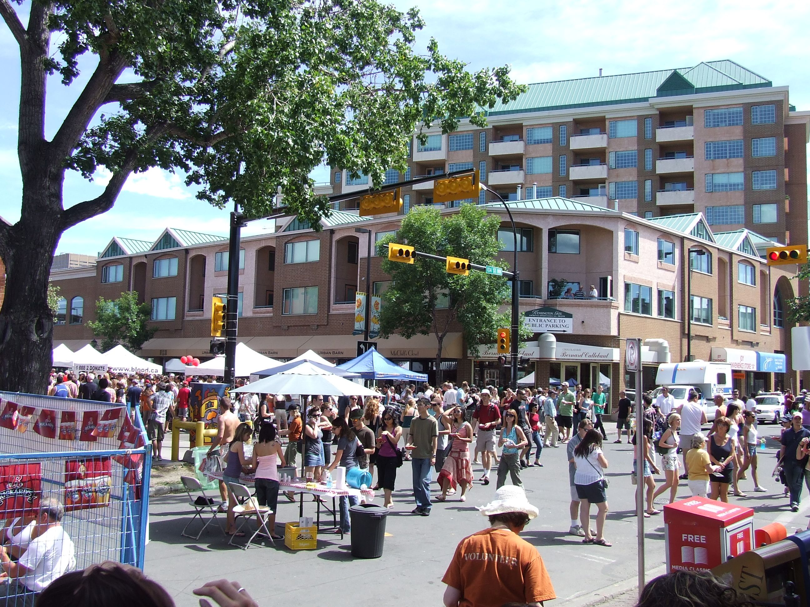 Kensington Sun & Salsa Calgary