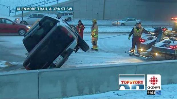 Dangerous Road Conditions, Calgary, AB